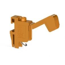 Гвинтова клема TRV 4 B для підключення трансформаторів, помаранчева