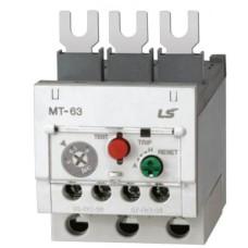 Теплове реле MT-63 L (3K), 55 А, діапазон регулювання, (45-65A)