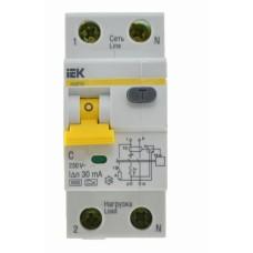Диференційний вимикач IEK АВДТ32, C10А, 30мА