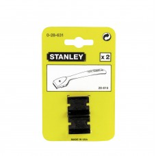Лезо запасне для скребка Stanley 38мм 2шт