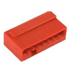 Мікро-клема для розподільчих коробок WAGO на 8 провідників 243-808 червона