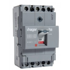 Автоматичний вимикач Hager x160, In=32А, 3п, 18kA