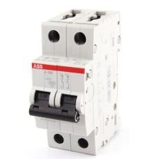 Електричний автомат ABB S202-C10 тип C 10А