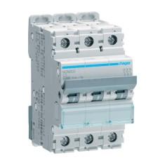 Автоматичний вимикач NCN303 (3р, С, 3А) Hager