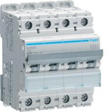 Автоматичний вимикач NCN425 (4р, С, 25А) Hager