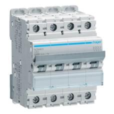 Автоматичний вимикач NCN463 (4р, С, 63А) Hager