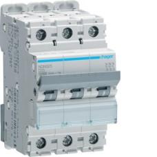 Автоматичний вимикач NDN325 (3p, D, 25А) Hager