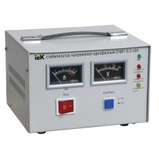 Стабілізатор напруги IEK СНИ1- 0,5кВт