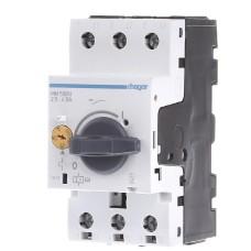 Автомат для захисту електродвигуна 2,4-4,0 А, 2,5м Hager