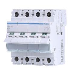 Вимикач навантаження Hager SBN463 4P 63А/400В 4м