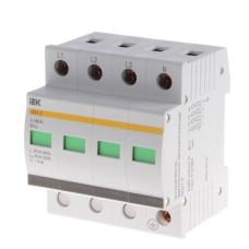 Розрядник IEK ОПС1-C 4P 20/40кА 400B
