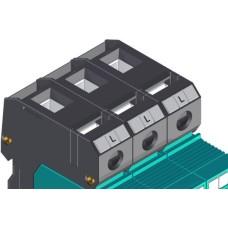 Пристрій захисту від імпульсних перенапруг E.next 81.003 e.POI.3 280V/12 5kA