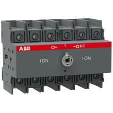 Перемикач навантаження ABB 1SCA105008R1001 OT100F3C (реверсивний рубильник)