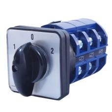 Кулачковий перемикач IEK BCS13-063-2 ПКП63-33/О 63А (1-0-2) 3Р/400В