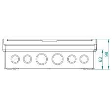 Щит накладний Elegant 1/12 IP40 Electro-Plast