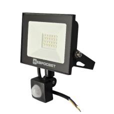 Світлодіодний прожектор з датчиком руху Евросвітло EV-20-504D 20Вт 1800Лм 6400К
