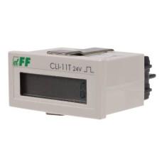 Лічильник імпульсів F&F CLI-11T 24В