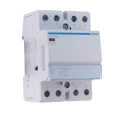 Безшумний контактор 63A ESC463 (4НО, 230В) 3м Hager
