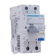 Диференційний автоматичний вимикач Hager AF966J 16А 1+N