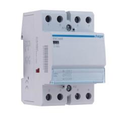 Безшумний контактор 40A ESC440 (4НО, 230В) 3м Hager