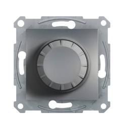 Світлорегулятор поворотний без рамки сталь Asfora, EPH6400162