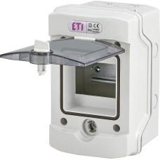 Пластиковий щит зовнішнього виконання ETI 001101170 ECH-4Gu (4 М IP65)