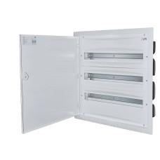 Металопластиковий щиток ETI 001101294 ERP24-3 (3х24 модулі)