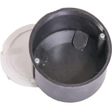 Коробка монтажна пластикова (з кришкою), Білмакс КРП-70Г