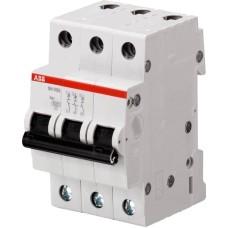 вимикач автоматичний ABB SH203-C6 тип C 6А