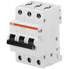 Електроавтомат ABB S203-C6 тип C 6А