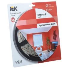 Стрічка світлодіодна 5м IEK-eco LSR-3528R60-4.8-IP65-12V
