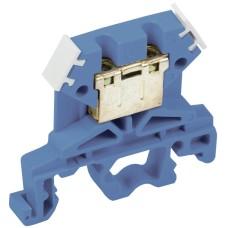 Зажим набірний IEK ЗНИ-4мм2 (JXB35А) синій