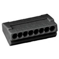 Клемблок пружинний ContaClip D2.5/8 на 8 проводів перетином 1-2,5мм кв