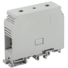 Зажим набірний IEK ЗНИ-95мм2 (JXB330А) сірий (без маркера)