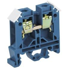 Зажим набірний IEK ЗНИ-35мм2 (JXB125А) синій