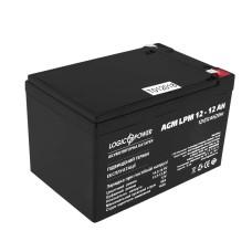 Акумулятор LogicPower AGM LPM 12-12 AH 12В