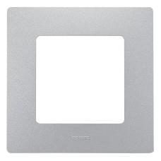 Рамка 1 постіва алюміній Legrand