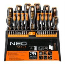 Набір викруток і насадок Neo Tools 04-210 (37шт)