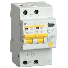 Диференційний автоматичний вимикач IEK АД12S 2Р 32А 100мА
