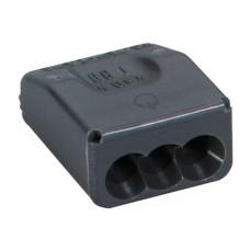 Клемблок пружинний Spelsberg SQ 32 (HandyQuick) 3х1,0-2,5 мм2 темно сірий