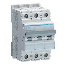 Автоматичний вимикач NDN306 (3p, D, 6А) Hager