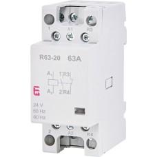 Модульний контактор ETI 002463484 R 63-11 230V
