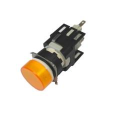 Світлосигнальна арматура EMAS D080YXS 24В AC/DC жовта
