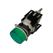 Світлосигнальна арматура EMAS D090YXY 24В AC/DC зелена