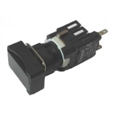 Прямокутна натискна кнопка EMAS D100DDH (1НО) чорна