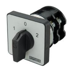 Кулачковий перемикач полюсів EMAS PS040KD134 реверсивний (1-0-2) 40А