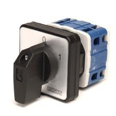 Кулачковий перемикач EMAS PSA025AK431S ON-OFF (0-1) 25А