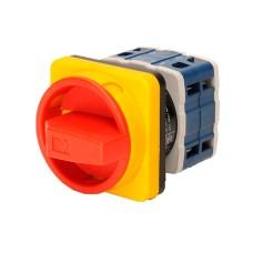 Кулачковий перемикач EMAS PSA025AK441E аварійний ON-OFF (0-1) 25А