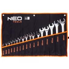 Набір комбінованих ключів Neo Tools 09-753 8-32мм (17шт)