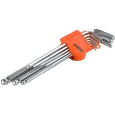 Набір шестигранних ключів Neo Tools 09-525 1.5-10мм (9шт)